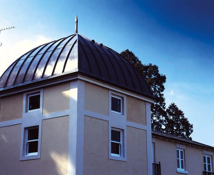 After plot 16 dome