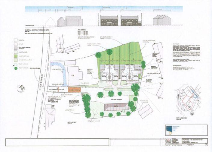 Chalgrove CAD plan